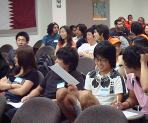 Students in UNIV 7000 class